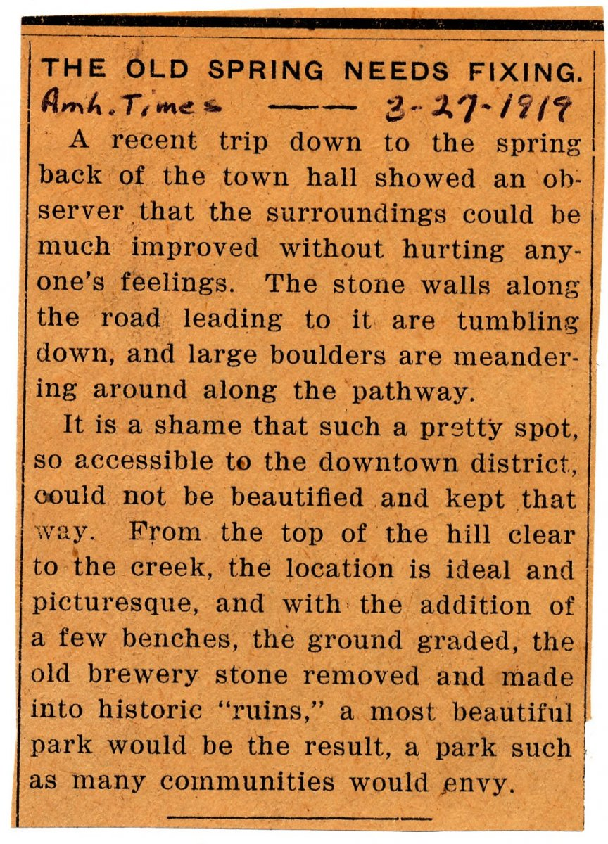 Amherst News Times 3-27-1919