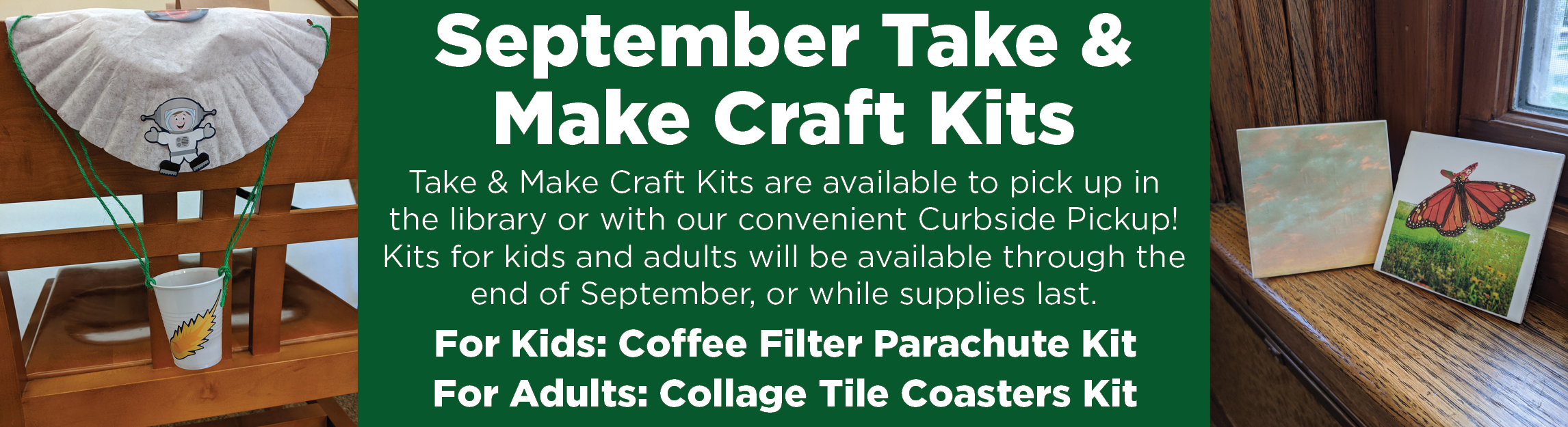 September Take & Make Craft Kits