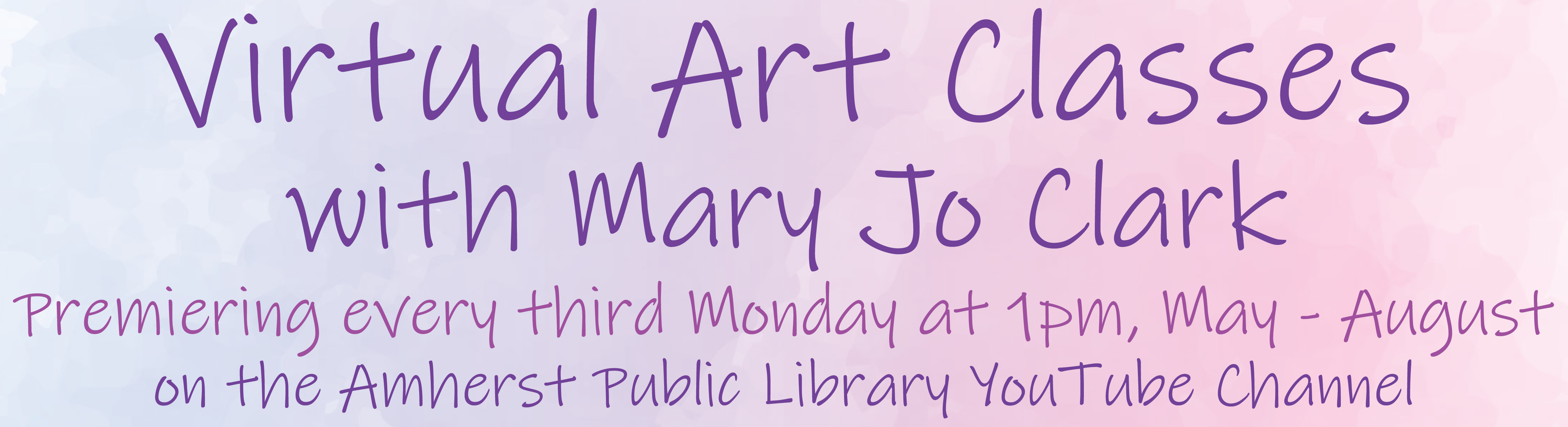 Virtual Art Classes with Mary Jo Clark