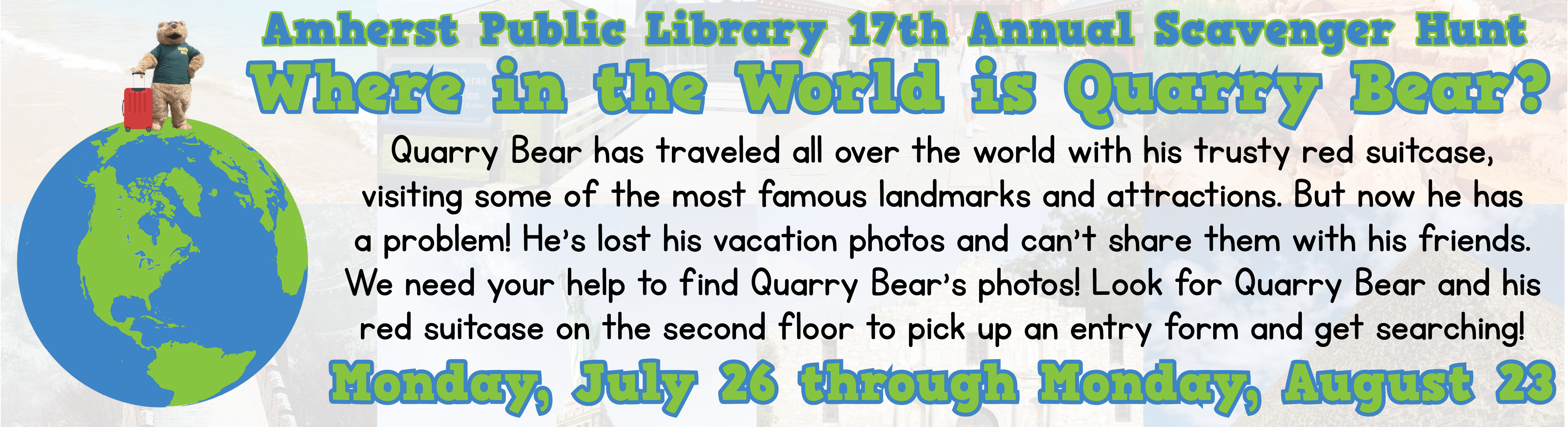Where in the World is Quarry Bear?
