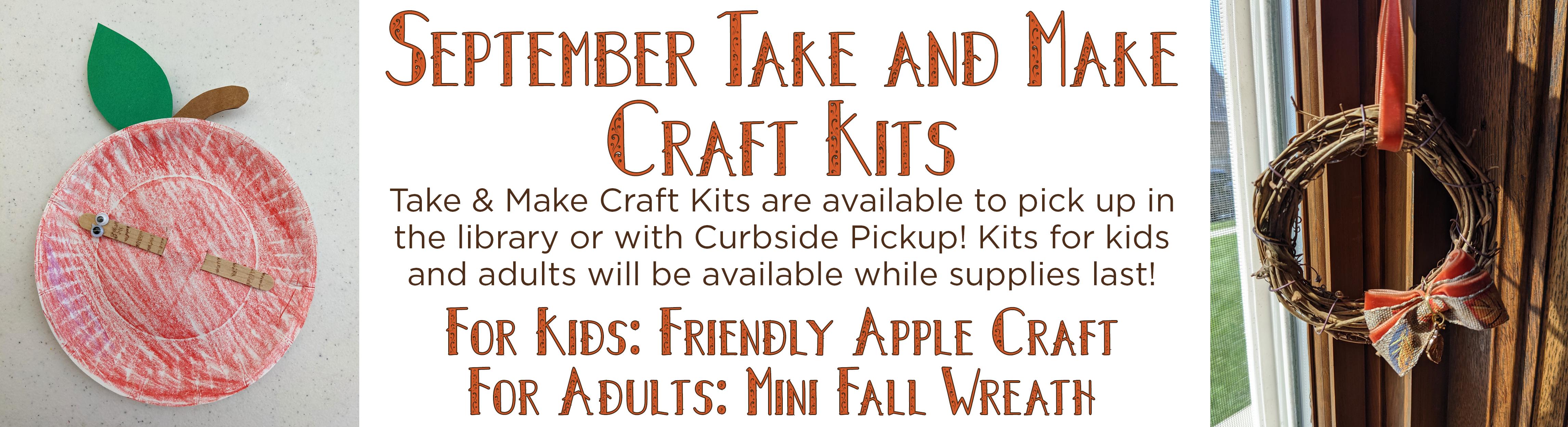 September Take & Make Craft Kits